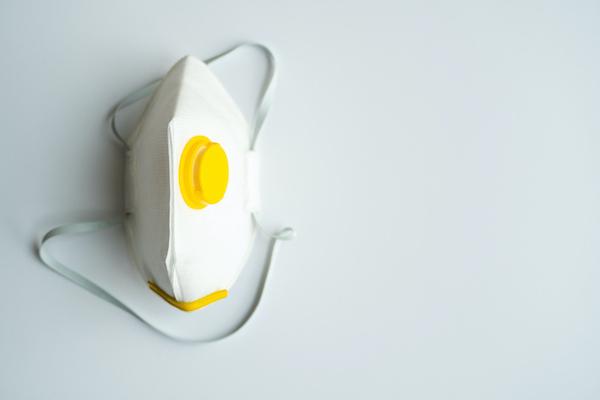 Eine FFP Maske.