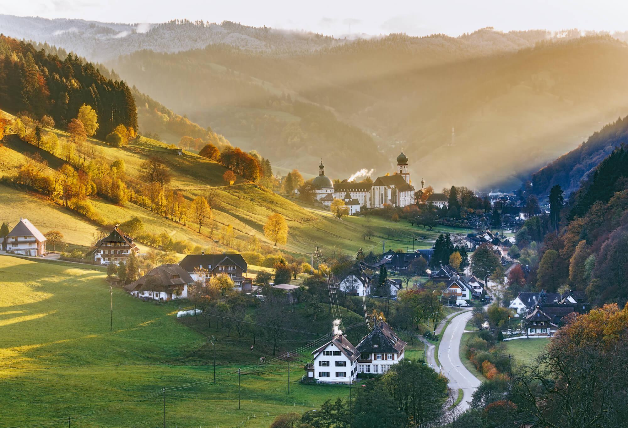 Tal im Schwarzwald