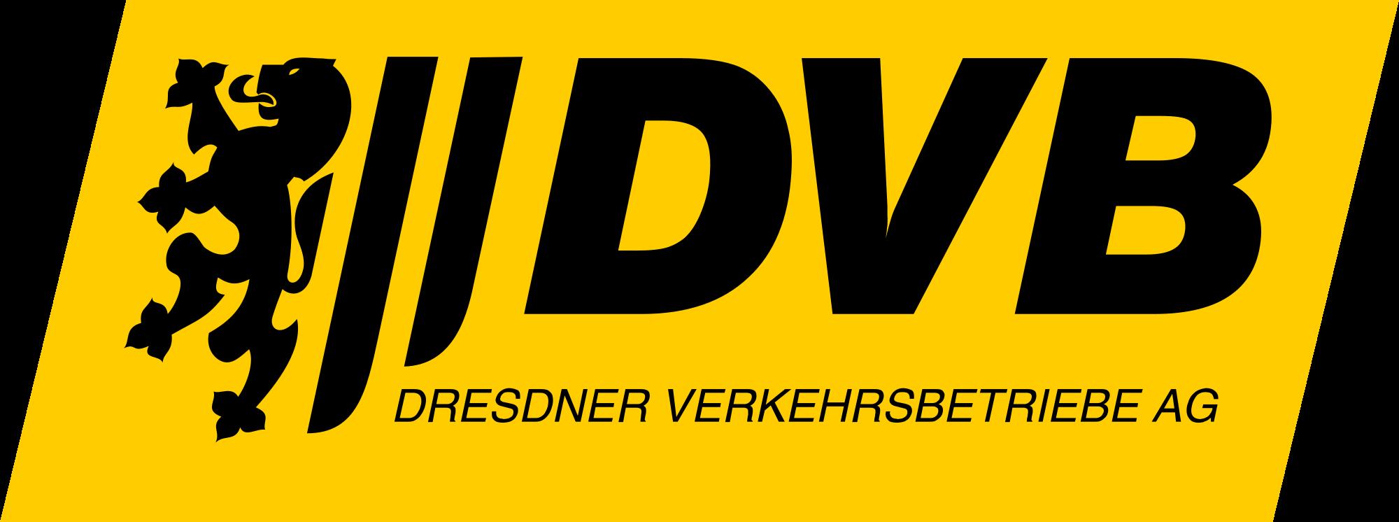 """Logo """"Dresdner Verkehrsbetriebe AG"""""""