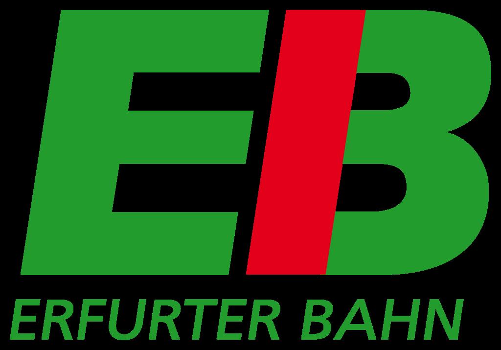 """Logo """"Erfurter Bahn GmbH"""""""