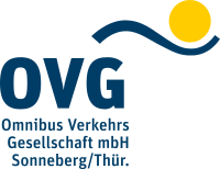 """Logo """"Omnibus Verkehrs Gesellschaft mbH Sonneberg/Thüringen"""""""