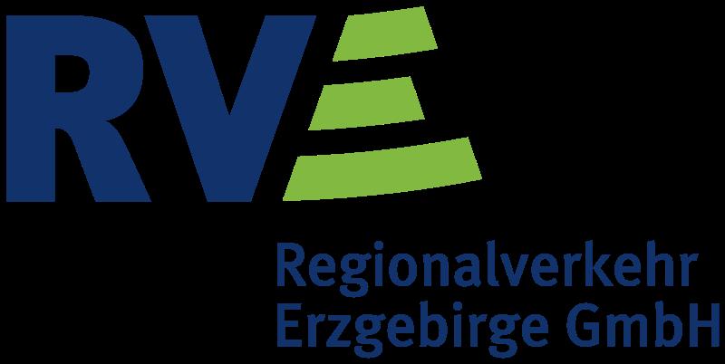"""Logo """"Regionalverkehr Erzgebirge GmbH"""""""
