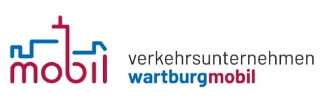"""Logo """"Verkehrsunternehmen Wartburgmobil (VUW) gkAöR"""""""