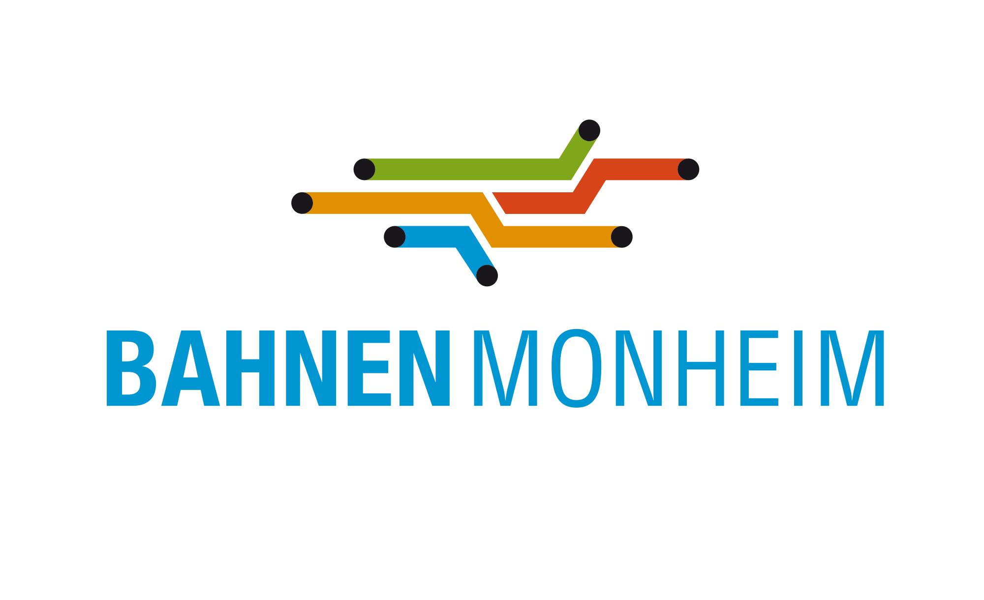 Logo Die Bahnen der Stadt Monheim GmbH