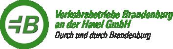 Logo Verkehrsbetriebe Brandenburg a.d. Havel GmbH