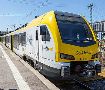 Regionalzug in Baden-Württemberg