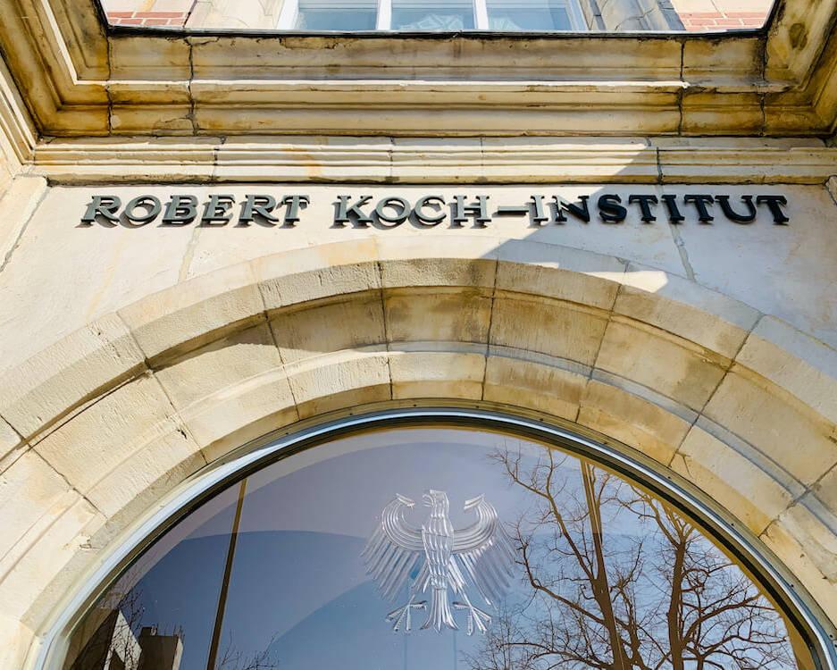 Gebäude des Robert-Koch-Instituts.