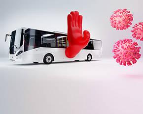 Keine Anhaltspunkte für ein erhöhtes Corona-Ansteckungsrisiko in Bus